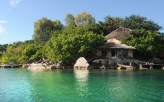 Kaya Mawa resort on Lake Malawi offers lodges looking right out over the water