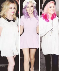 Can I just be Perrie Edwards please? She's beautiful and so sweet! I'm in love with her hair, no matter what color she dyes it.