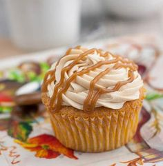 Apple Cider Cupcakes with Salted Caramel Buttercream Post Image
