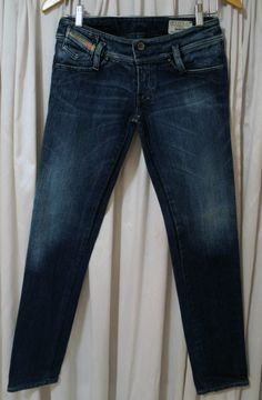 Calça jeans com stretch Diesel | Loja Café Brechó