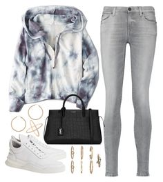 """""""Comin home"""" by liberhty ❤ liked on Polyvore featuring 7 For All Mankind, American Eagle Outfitters, Yves Saint Laurent, Filling Pieces, Boohoo, ERTH and Eva Fehren"""
