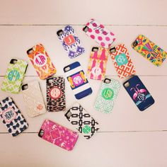New patterns for Nico and Lala iPhone cases, available online NOW!!