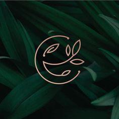 Logo Design App, Elegant Logo Design, Minimal Logo Design, Branding Design, Graphic Design, Logo Branding, Logo Arbol, Logo Minimalista, Organic Logo