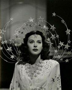 A costume by Adrian for Hedy Lamar in Ziegfeld Girl