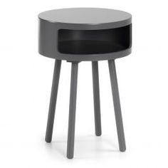 Side table with wood fiberboard top and feet in solid rubberwood.        Dimensions  40 × 40 × 56 cm        (NOTE: PRICE DOES NOT INCLUDE DELIVERY FEES. DELIVERY TO BE QUOTED SEPERATELY)