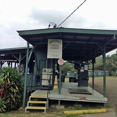 Coffee cherry processing site at Greenwell Farms - Kealakekua, HI