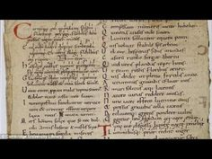 Songs of Consolation Middle Ages melody reconstructed using a stolen man...