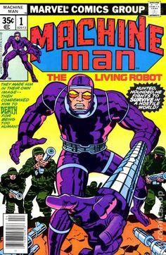 """Before RoboCop, Jack Kirby created a RoboHero! X-51 was the one robot who was more human than the others created by a corporation - for that he was hounded. He later assumes the identity of """"Aaron Stack."""""""