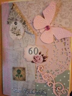 Karte zum 60. Geburtstag