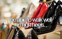I'm too short NOT to have high heels -_-