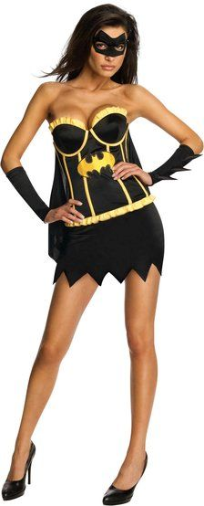 Sexy Justice League Batgirl Costume -keep #Gotham safe in style!