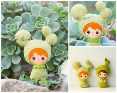 PDF Pattern. Cactus girls. by Noialand on Etsy