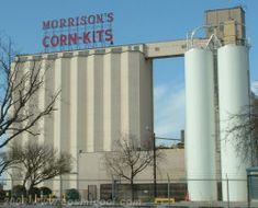 Morrison's Milling Co, and a buncha other cool signs of Denton TX