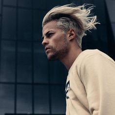 Another one by Top Haircuts For Men, Mens Hairstyles With Beard, Undercut Hairstyles, Hair And Beard Styles, Hairstyle Man, Elegant Hairstyles, Vintage Hairstyles, Cool Hairstyles, Medium Hair Styles