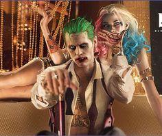 Joker and Harley Quinn Harley Quinn Tattoo, Harley Quinn Drawing, Harley And Joker Love, Joker Und Harley Quinn, Harely Quinn And Joker, Le Joker Batman, Joker Art, Gotham Batman, Batman Art