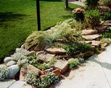 Simple Rock Gardens Simple Rock Garden Landscaping Can Be Achieved