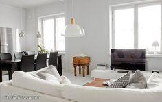 Studio apartment's living room / Kaupunkiasunnon olohuone