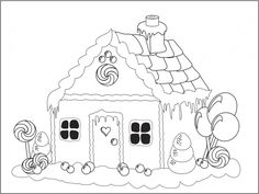 42 Best Coloring Gingerbread Images On Pinterest Coloring Pages