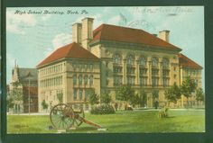 YORK PA HIGH SCHOOL 1907