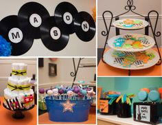 One Lucky Pickle: Rock-A-Bye Baby Shower.  Seriously cute shower full of super cool rockstar treats and decor!  Love the ideas!