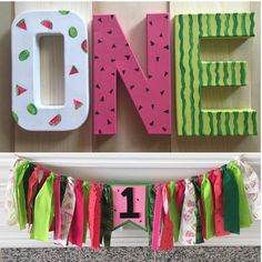 Watermelon first birthday by PaperLaneDesign on Etsy https://www.etsy.com/listing/456846214/watermelon-first-birthday