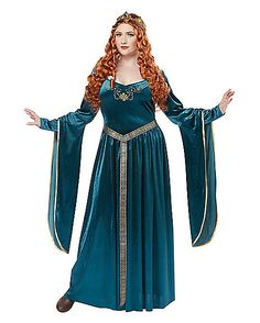 Adult Lady Guinevere Plus Size Costume - Spirithalloween.com