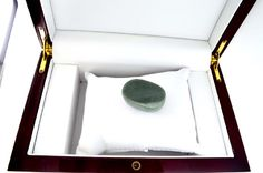 Lot: APP: 3k 200.50CT Oval Cut Cabochon Green Jade Gemstone, Lot Number: 0480, Starting Bid: $2, Auctioneer: GovernmentAuction, Auction: Government Special Asset Sale Antiques