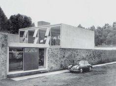 TALLER DE ARQUITECTURA 1950, Campos Elíseos N° 432. Augusto H. Álvarez García, Enrique Carral Icaza y Manuel Martínez Páez