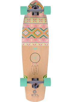 BTFL-Longboards Betty - titus-shop.com #LongboardComplete #Skateboard #titus #titusskateshop