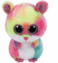 60bb8652414 TY Beanie Boos Rodney the Pink Hamster (Regular Size - 6 inch) 36214