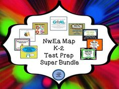 NWEA Map Whole Test Prep Collection! This is over 90 usable pages of review designed for a first grade classroom that assists greatly with Standardized testing preparation. After searching and searching for products to use in my classroom each year, I took everything that I have learned over the years about Standardized testing and I designed my own products to help my students review and prepare for this yearly test!! Behavior Goals, Fact And Opinion, Thing 1, First Grade Classroom, Math Concepts, Creative Teaching, Test Prep, Elementary Math, Math Resources
