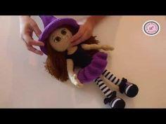 Mis amigurumis terminados: bruja by Havva Unlu. - YouTube