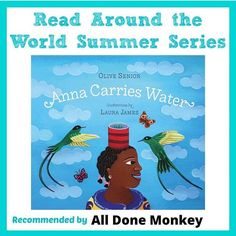 Anna Carries Water, an #OwnVoices book from #Jamaica#ReadtheWorldMKB #ReadYourWorld Laura James, Our World, Great Books, Reading Lists, Jamaica, Carry On, Anna, Around The Worlds, Water