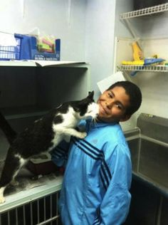 Wendell, the brave 10-year-old who saved a cat from being tortured by a group of boys.   24 Small, Meaningful Acts Of Kindness