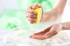 Zitrone als Hausmittel gegen Schwitzen