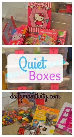 Perfect quiet time activity to keep kids entertained once naps no longer happen.
