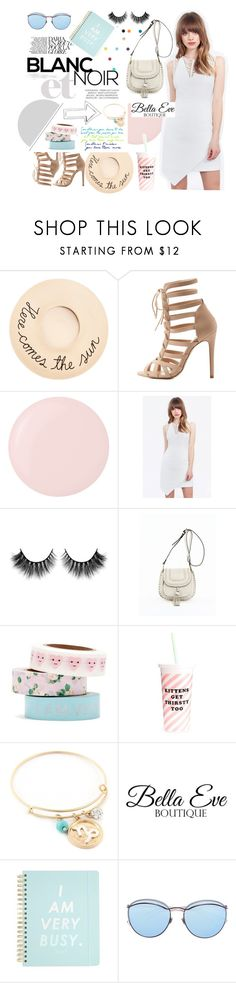 """Bella Eve Boutique"" by sofia10-1 ❤ liked on Polyvore featuring Eugenia Kim, Charlotte Russe, Deborah Lippmann, ban.do and Shay"