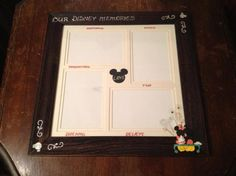 make your own disney inspired picture frames for super cheap cheap picture frames disney inspired and disney vacations - Disney Picture Frames