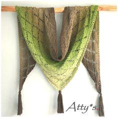 Crochet Whirl Shawl