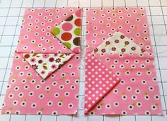 Little Thunder Lizard: Pinwheel Blocks Tutorial. I have made this for my daughter, in black & brights. It's a fun quilt. Quilting Tips, Quilting Tutorials, Quilting Projects, Quilting Designs, Sewing Projects, Beginner Quilting, Origami, Quilt Block Patterns, Quilt Blocks