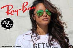 """Ray-Ban su OcchialiGraduati.com """"Spedizione Gratuita"""" SCONTO del 30% #rayban #shopping #style #ss2014 #summer #fashion #glassesonline #glasses"""