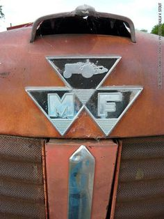 Massey Ferguson Tractor - Biking Across Kansas 2008