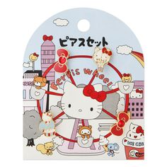 Hello Kitty earrings set (amusement park) Sanrio online shop - official mail order site