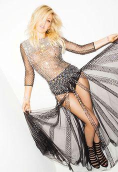 Ellie Goulding for 'Cosmopolitan.'