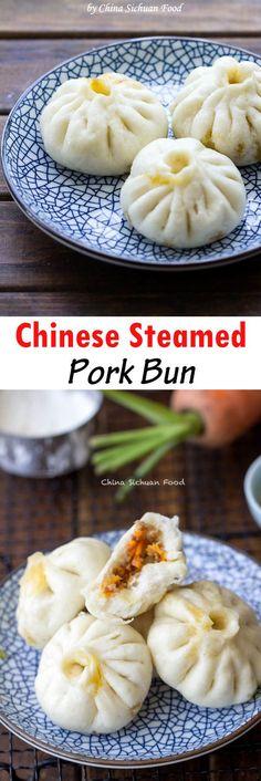 Chinese Pork Bun   China Sichuan Food