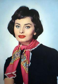 Love Sophia's scarf.