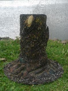 tronco para flores