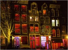 Amsterdam - Red Light District  (Walked all night to find the Red Light District KR)