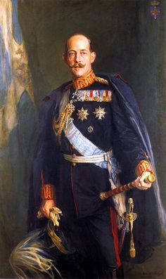 Constantine I was King Of Greece from 1913 to 1917 and from 1920 to Constantine was married to Princess Sophie of Prussia, a granddaughter of Queen Victoria and sister of Kaiser Wilhelm II. Greece History, Greek Royalty, Greek Royal Family, Christian Ix, Kaiser, Lady And Gentlemen, Royal Fashion, King, Hyperrealism