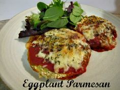 Food Friday~ Eggplant Parmesan